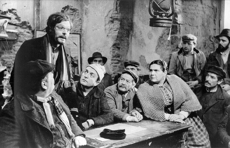 """Les camarades"", de Mario Monicelli (1963) Compagni"