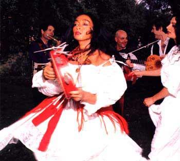 tarantata  italian folk dance