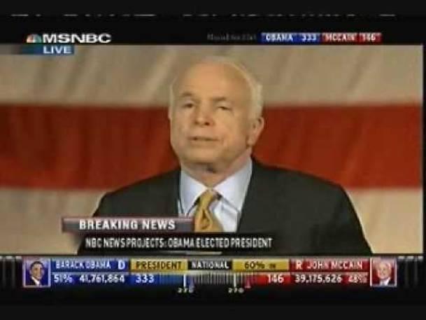 John McCain Concession Speech