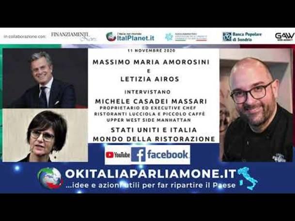 Stati Uniti e Italia, mondo della ristorazione