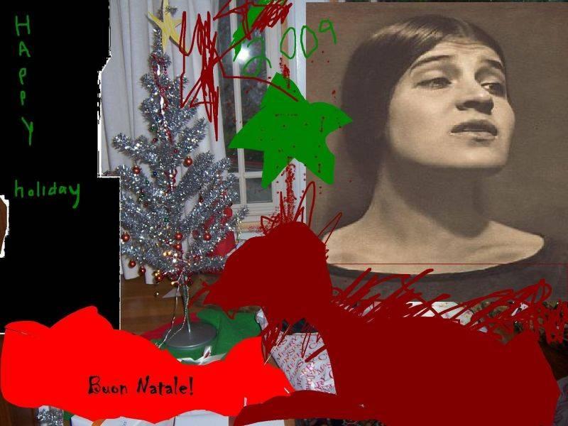 Radical Italian American Christmas Cards