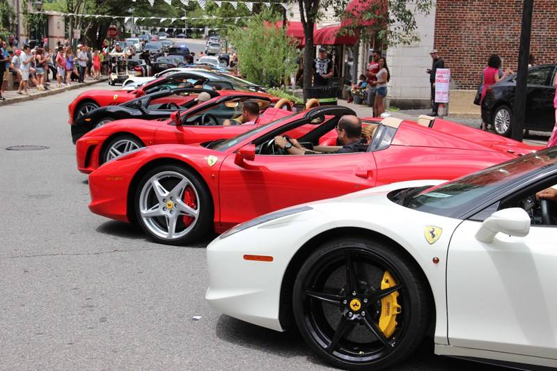 Italian Cars Take To The Streets Of Montclair - Car shows in nj