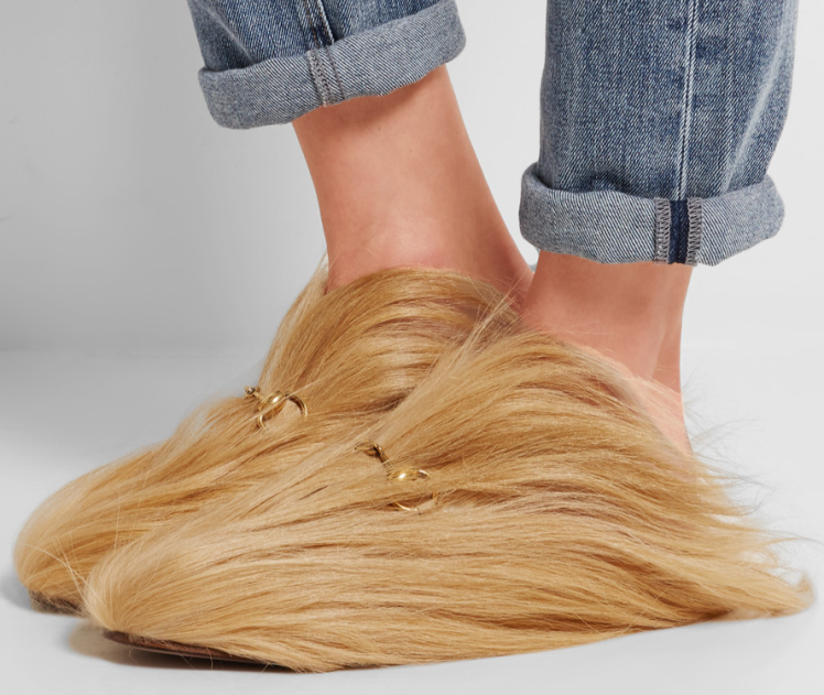 ed2ffa41e1d Are These Slippers Inspired by Trump s Hair
