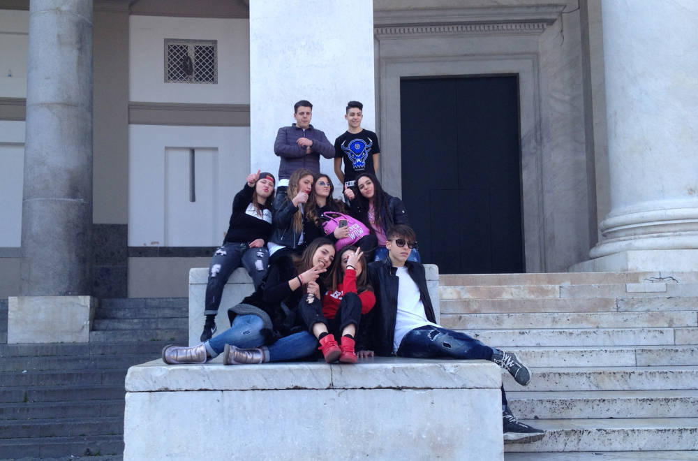 Students in Naples