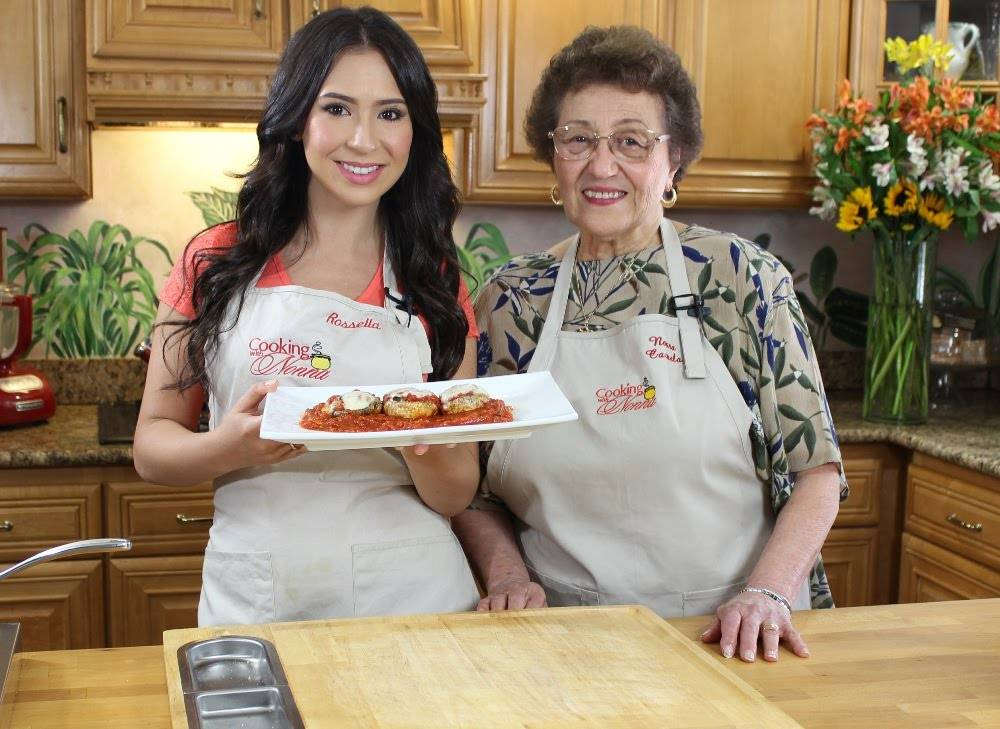 Cooking With Nonna Comes To A Bookstore Near You