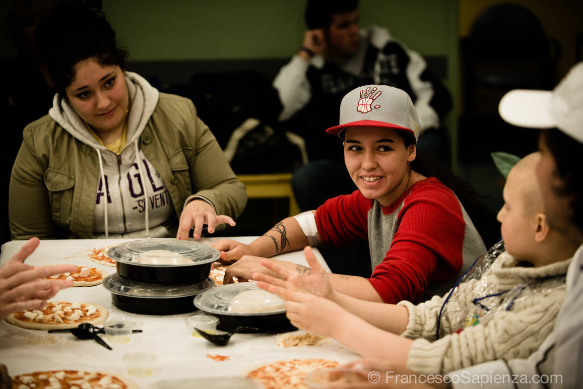 The Gift of a Smile: Pizza Class at Mount Sinai Medical Center