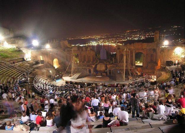 Image result for Taormina Film Fest- Sicily