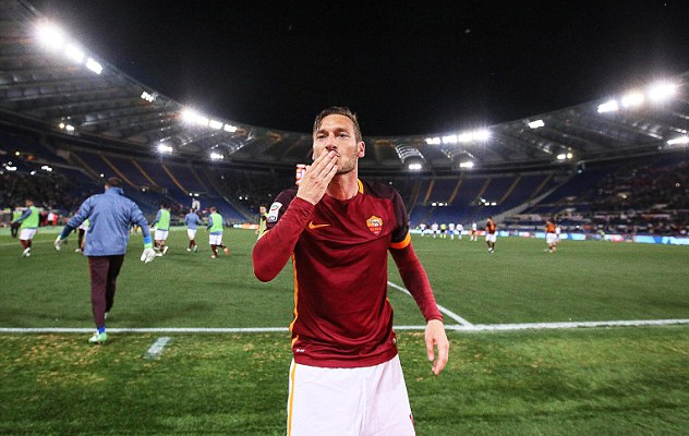 Francesco Totti  Bidding Farewell to the Iconic A.S. Roma Captain 4342b2414