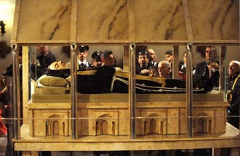 Padre Pio Through The Looking Glass