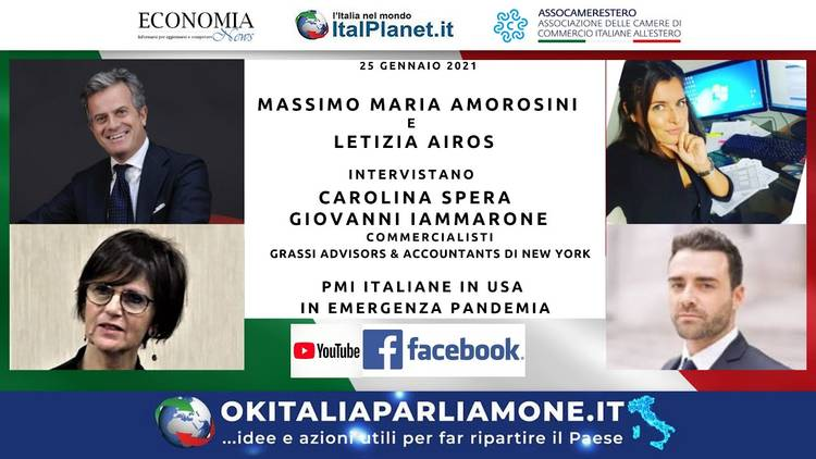 PMI italiane in USA in emergenza pandemia