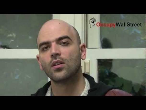 Roberto Saviano at Occupy Wall Street