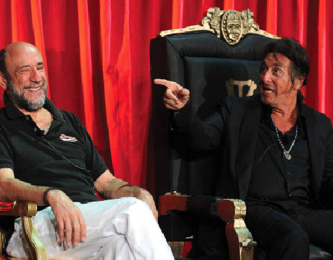 With Al Pacino