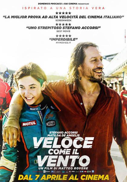 'Veloce come il vento' movie poster