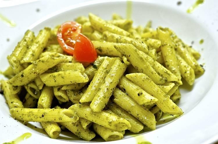 Penne al Pesto (Pesto Pasta)